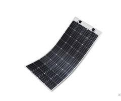 High Efficiency 160w Monocrystalline Flexible Solar Module For Car And Boat