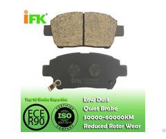Semi Low Metallic Nao Ceramic 0446552010 Gdb3242 Gdb7075 D822 D990 Disc Brake Pad Manufacturer