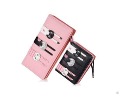 Top Factory In China Ladies Cute Purses Cat Wallet Coin