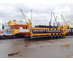New Lowbed Trailers 4 Axle