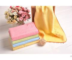 Color Strip Satin Towel