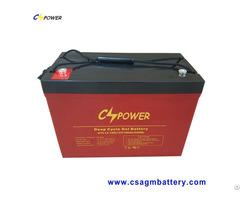 Pure Gel Battery 12v100ah For 48v Solar Power System Htl12 100ah