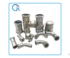 Press Fittings High Quality With Dvgw Stainless Steel