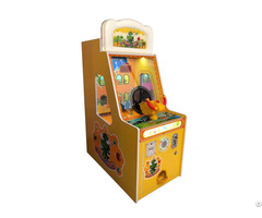 Capsule Redemption Kids Ball Shooting Dinosaur Game Machine