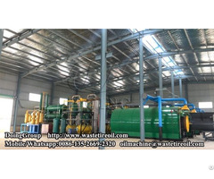 Waste Tyre To Pyrolysis Oil Recycling Plants Being Installed In Fujian China