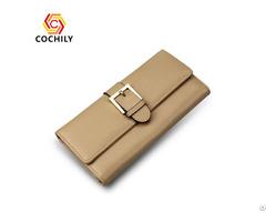 Portable Reusable Waterproof Genuine Leather Wallet Oem