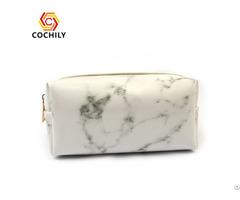 Hot Sale 2019 Marble Women Cosmetic Bag Oem