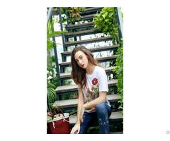 Fashion Light And Luxurious Women S Clothing High Quality T Shirt
