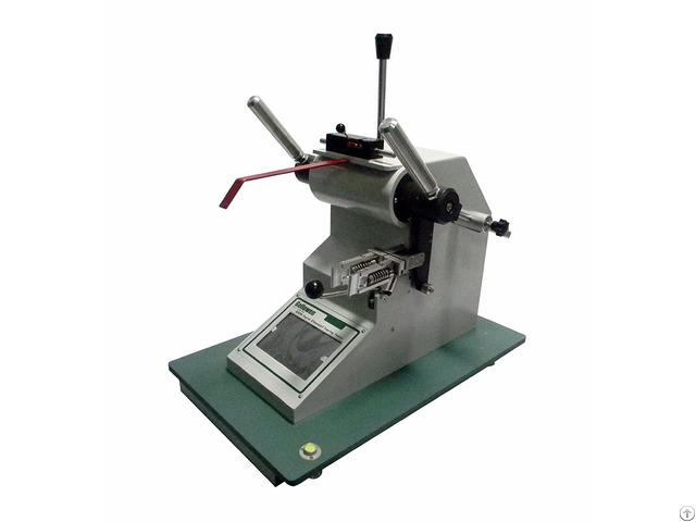 Digital Elmendorf Tearing Tester For Textile Fabrics