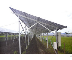 Solar Pv Ground Mounting System For Agricultural Farmland Green House Ul Iso Sgs Standard