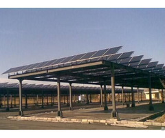 Galvanized Ground Screw Mounting System For Solar Farm Pv Agricultural Greenhouse