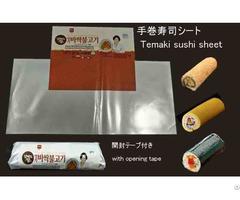 Temaki Sushi Sheet