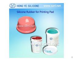 Liquid Pad Printing Silicone Rubber Material Rtv