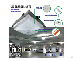 Dlc Premium 12x12 90w Led Canopy Lights With Motion Sensor And 5 Yrs Warranty