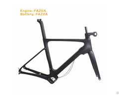 Newest Carbon Fiber Road E Bike Frame