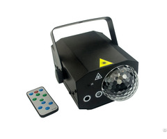 Rgb 16 Patterns Led Laser Magic Ball Light Disco Projector With Remote Control
