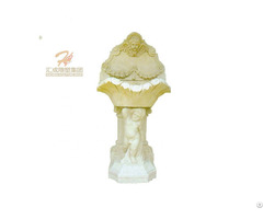 Factory Manufactured Mounted Marble Wall Fountain
