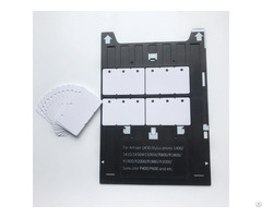 Inkjet Printable Blank 3up Pvc Cambo Cards