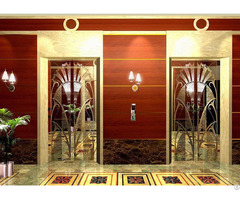 China Cold Rolled Stainless Steel Etched Elevator Decorative Door