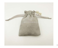 Suede Jewelry Pouch