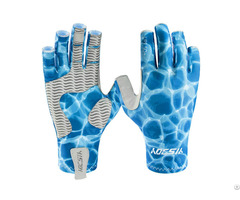 Custom Made Sun Protective Fishing Sports Gloves