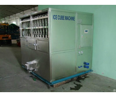Edible Cube Ice Machine Hlc 2t Clean Sanitary Used In Cold Drink Shop