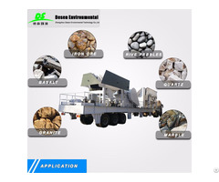 Mobile Crusher Mechanical Equipment