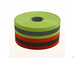 Good Quality Flourecent Yellow Reflective Tape For Workwear Supplier