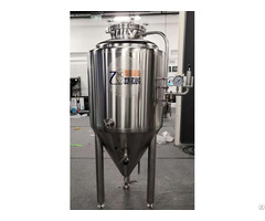 30l 50l Conical Beer Fermenter Fermentation Tank Sus 304 For Home Brewing