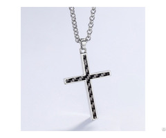Fashion Carbon Fiber Necklace Can Make Customized Designs