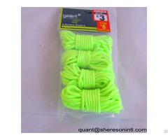 Guy Line Flourescent Rope Pp Nylon Poly Elastic