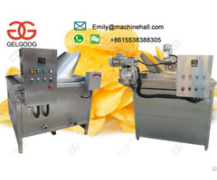 Commercial Potato Chips Frying Machine For Sale