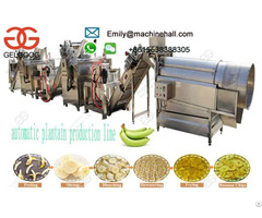 Banana Plantain Chips Production Line