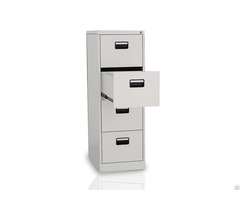 Metal 4 Drawer Lateral Safe File Cabinet