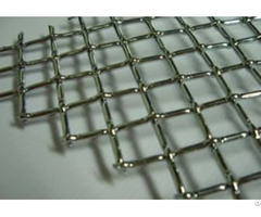 Crimped Wire Mesh Materials Using