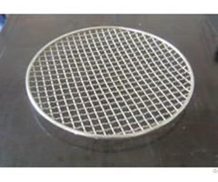Pre Crimped Wire Mesh As Barbecue Grill Netting