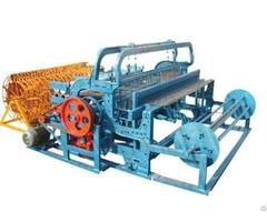 Semi Automatic Wire Mesh Crimping Machine Description