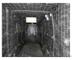Crimped Wire Mine Supporting Mesh For Roadway Roof And Sidewall