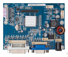 High Performance Driving Board For Lvds Tft Lcd To Support Vga Dvi Input
