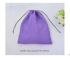 Customize Large Velvet Drawstring Shoes Bag