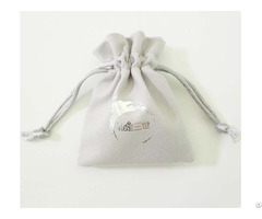 Double Faced Suede Jewelry Pouch