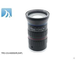 3mp Auto Iris 5 50mm Cs Mount Varifocal Manual Lens