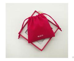 High Quality Small Velvet Drawstring Gift Bag