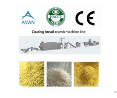 Automatic Panko Bread Crumb Making Machine