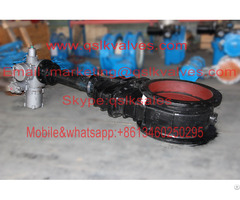 Electric Gate Valve For Coal Gas