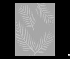 Nature Leaf Flower Picture Perforated Metal In Window Door