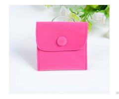 Velvet Jewelry Bag For Pendants