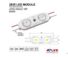 Adled 2019 New 2w 200lm 180degree 2835 Smd Led Driver Module For Light Box