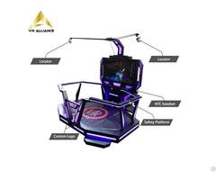 9d Standing Platform Virtual Reality Equipment For Theme Park