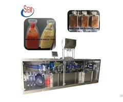 Plastiac Ampoule Chili Sauce Packing Machine